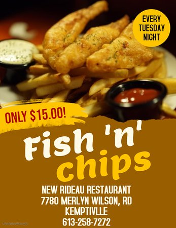 Fish & Chips - Tuesday Nights!