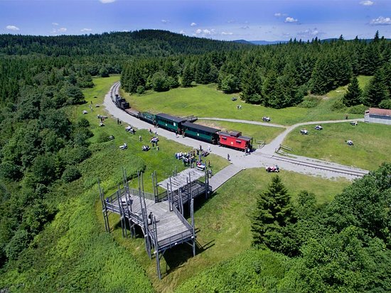 Nature's Mountain Playground - Pocahontas County: Whittaker Station - one of the Cass Scenic Railroad State Park's scenic train excursions!