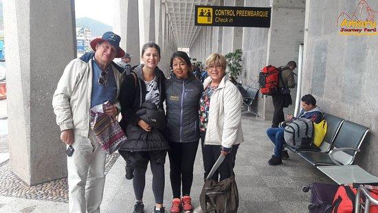 Amaru Journey Peru: Familia Fraumeni, quedo encantado por su visita a Machupicchu.