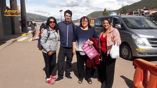 Amaru Journey Peru: Selma Arriagada y su familia disfrutaron mucho con todos los servicios del city tour, Valle Sagrado, Machupicchu