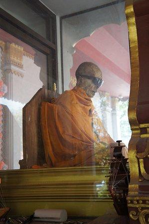 Ko Samui, Thailand: Mummified Monk