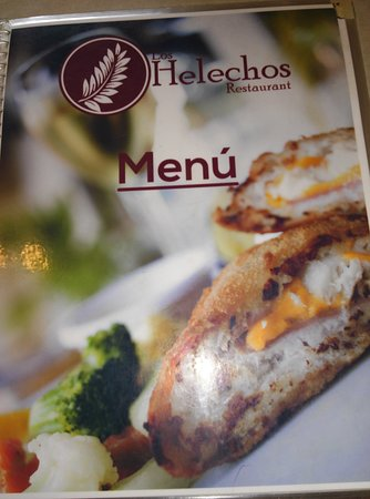 Restaurant Bar Los Helechos: MENU