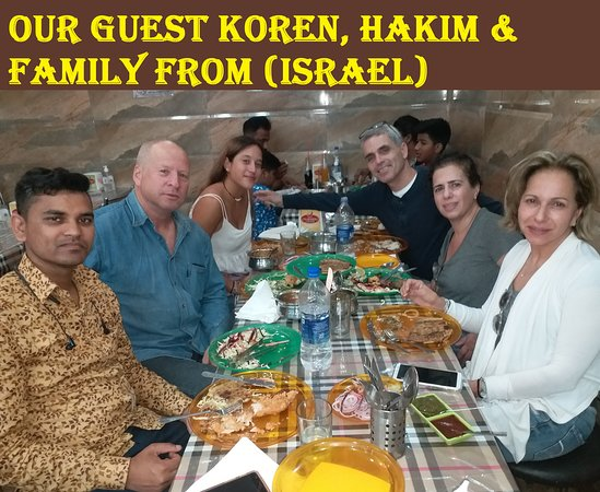 Charming Chicken: OUR GUEST FROM (ISRAEL)