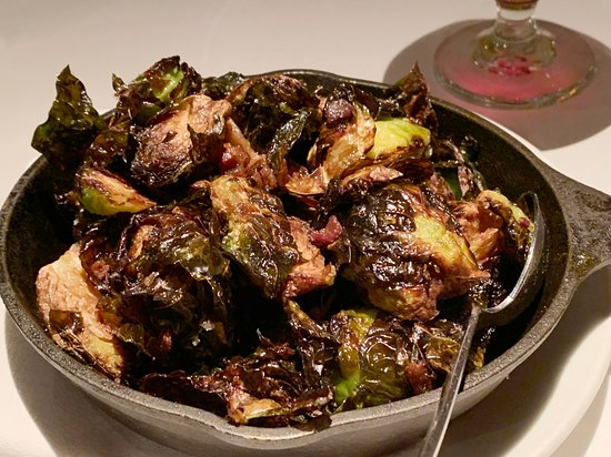 Image result for charred brussel sprouts pictures