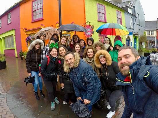 AdvenTour en Kinsale el 16-03-2019. Kinsale, Ireland.