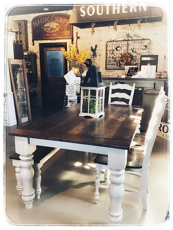 Another Farm Table created for wonderful clients