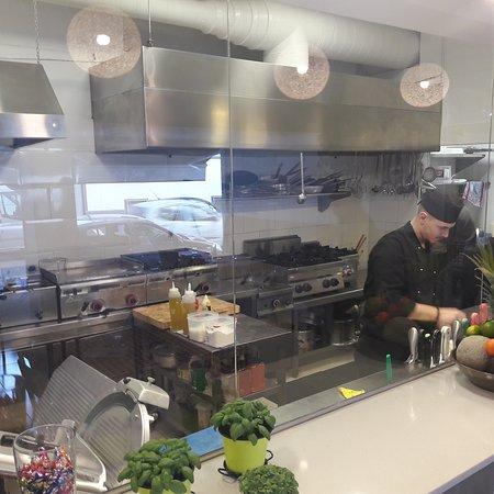 Il Piccolo Principe Riatorante Pizzeria: La cocina