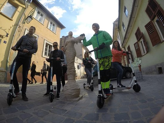 Private tour on Electric Scooter