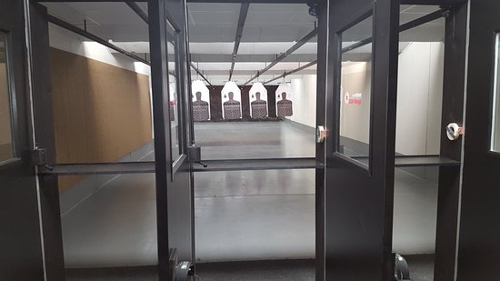 The Indoor Gun Range: Bring your own Firearm or rent one our ours.  Want to use your own ammo, bring that to.