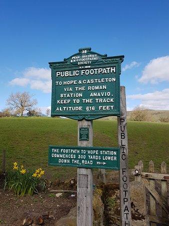 Bilde fra Derbyshire