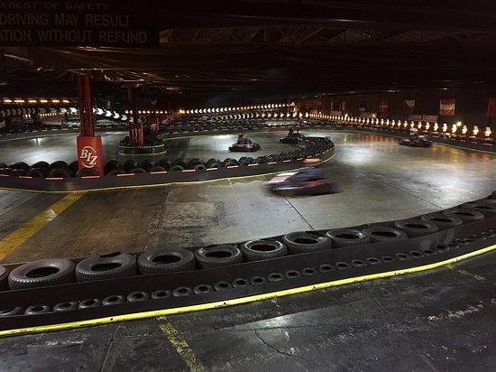 Cannon Raceway: gara