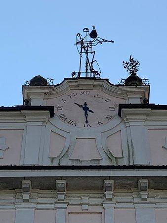 orologio con banderuola