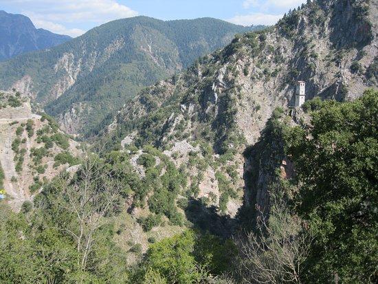 Proussos Monastery: θέα