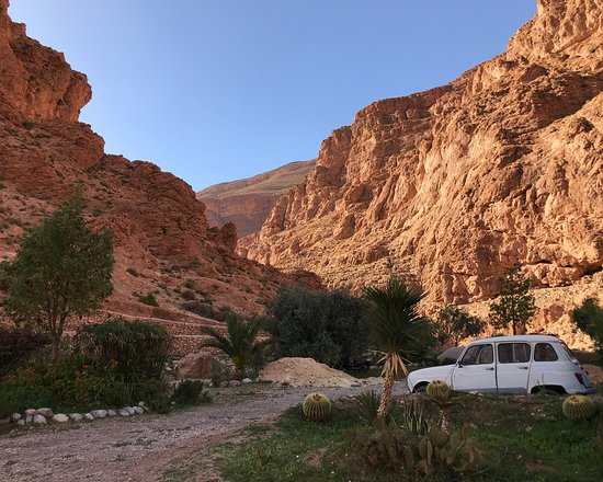 Incredible Auberge le Festival in Todra Gorge
