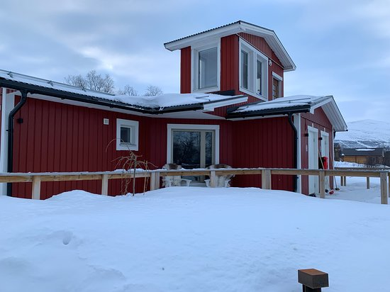 Abisko Mountain Lodge: building housing superior rooms