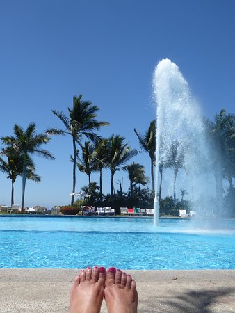 The Mayan Palace pool