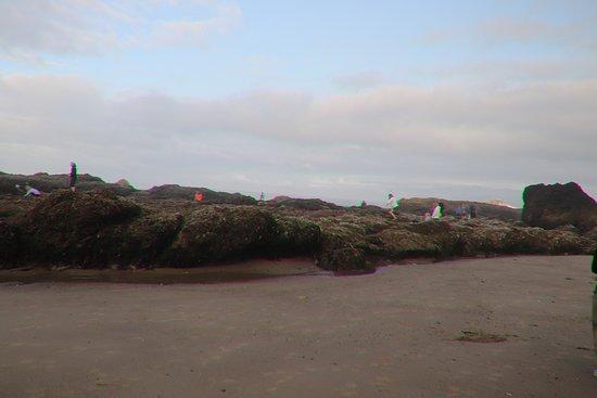 We were close to the Secret Beach