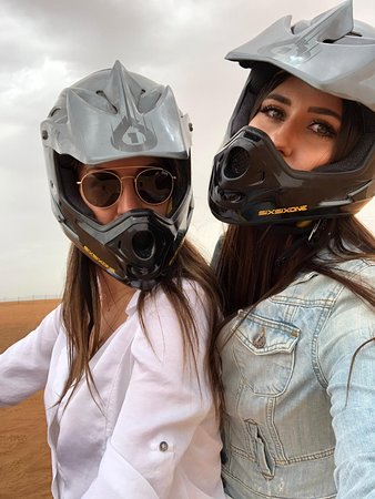 Premium Red Dunes & Camel Safari with BBQ at Al Khayma Camp by OceanAir™️: Quad biking was amazing, cost extra, about £20 each, not much