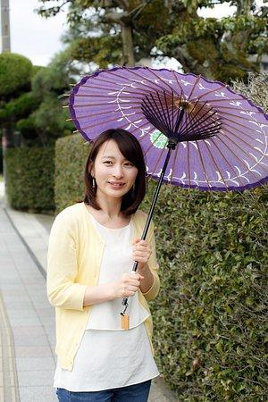 日傘は借りることができますよ