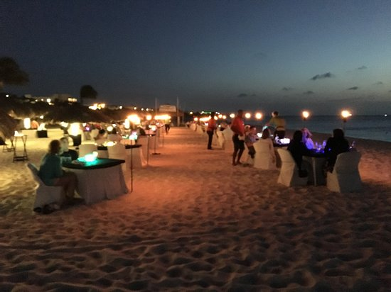 Passions on the Beach : View from your table