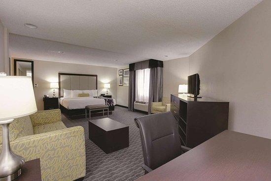 La Quinta Inn & Suites by Wyndham Detroit Metro Airport: Guest room