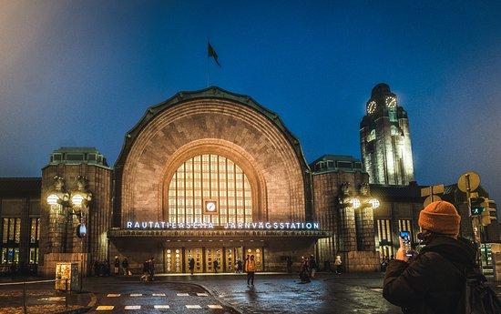 Dworzec Centralny w Helsinkach