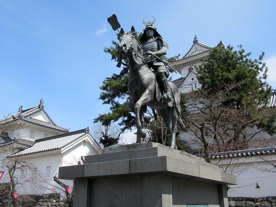 Toda Ujikane Kokiba Statue