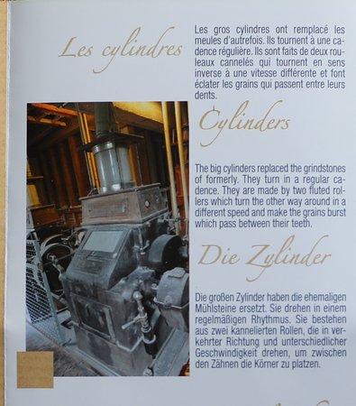 Mont-sous-Vaudrey, Frankrijk: Vaudrey : Le moulin val d'amour ouvert du lundi au samedi  -- Moulin ou l'on fabrique la farine