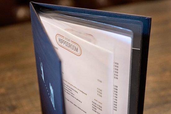 Eetcafé Hippodroom: Met partner, gezin, familie, collega's,… Voor een snelle lunch, een koffie met vieruurtje of een gemoedelijk etentje: onze kaart bevat voor elk wat wils.