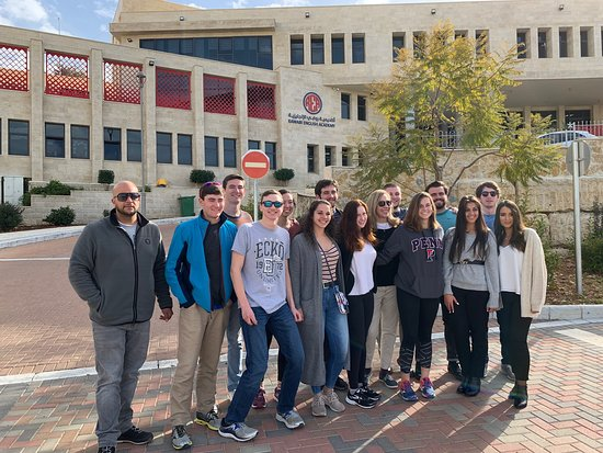 Beyond Borders Tours: Ramallah and Rawabi Tour with students from Elon University, The Martha and Spencer Love School of Business.
