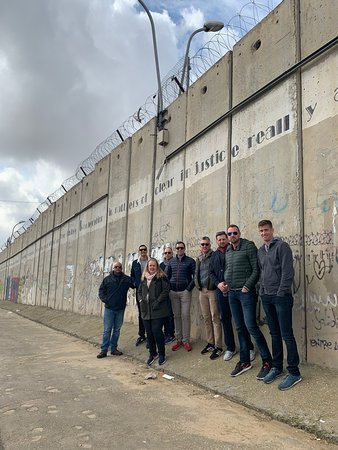 Beyond Borders Tours: Ramallah and Bethlehem Tour with a group visiting from Washington, D.C.