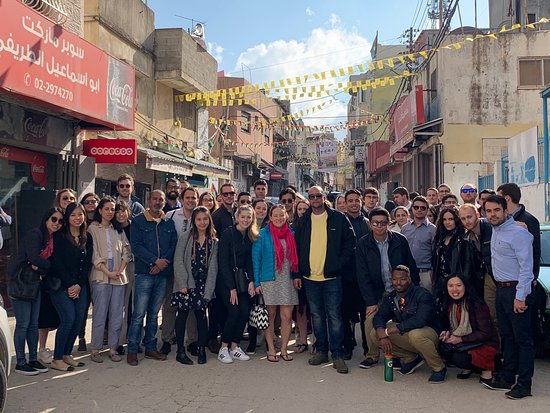Beyond Borders Tours: Ramallah Tour with students from the University of Pennsylvania, School of Law.