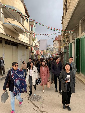 Ramallah and Rawabi Tour with students from Georgetown University, McCourt School of Public Policy.