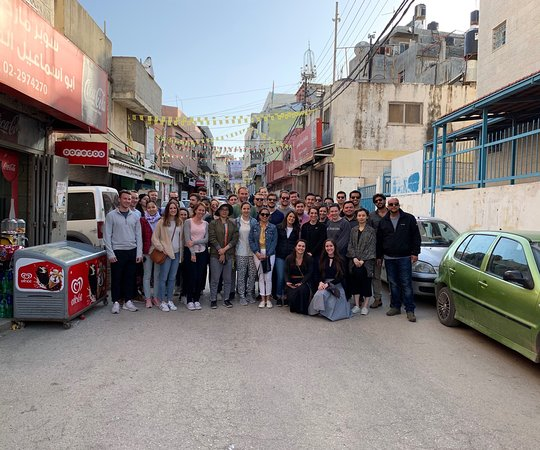 Beyond Borders Tours: Ramallah Tour with students from Duke University, School of Law.