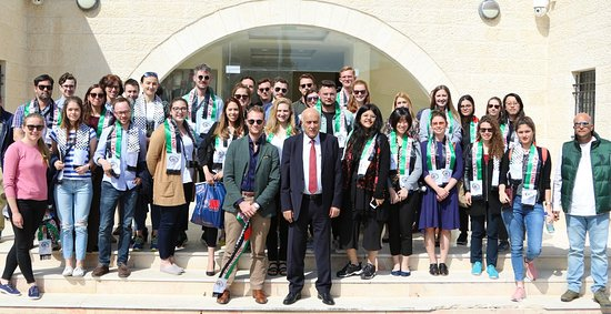 Ramallah and Rawabi Tour with students from Oxford University, Blavatnik School of Government.