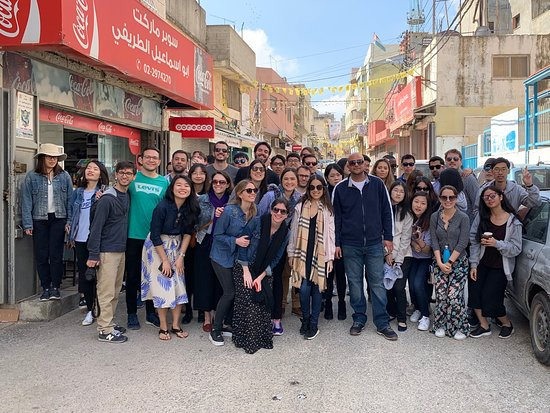 Ramallah Tour with students from New York University, School of Law.
