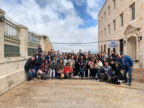 Bethlehem Tour with students from Northwestern University, School of Law.
