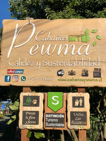 Cabin Pewma Futrono: Certificación Sello Sustentable