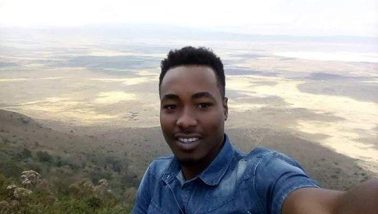 Ngorongoro Conservation Area, Tanzania: View point.. At Ngorongoro Crater