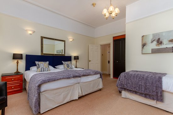 One of our family rooms, fully en-suite