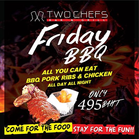 Fridays All You Can Eat BBQ