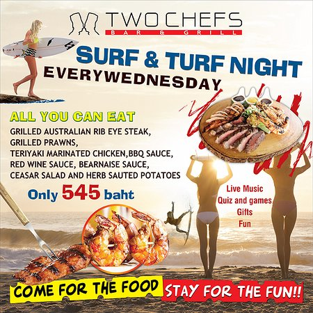 All You Can Eat Surf & Turf