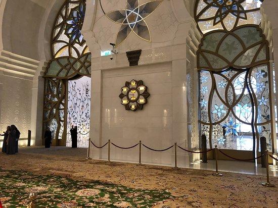 Μέγα Τέμενος του Σεΐχη Ζάιντ: grande salle