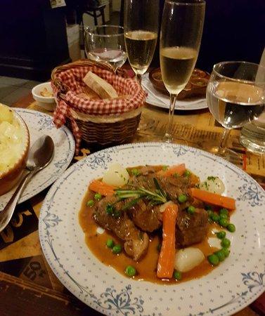 Navarin d'agneau. Lamb stew.