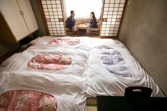 โรงแรมนิว สึรุตะ: Economy Japanese-Style City View (with four futon sheets)