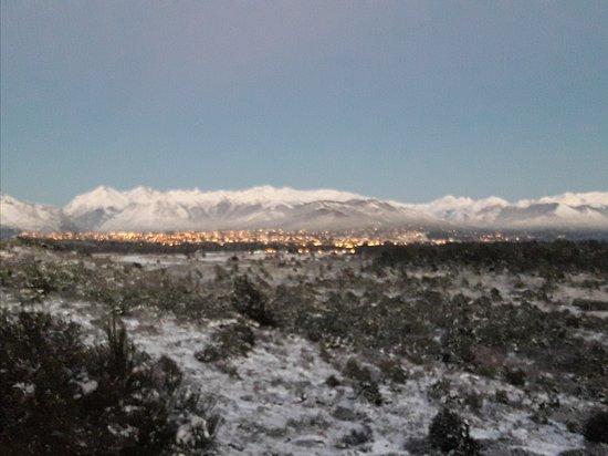 Amaneceres nevados en Bariloche