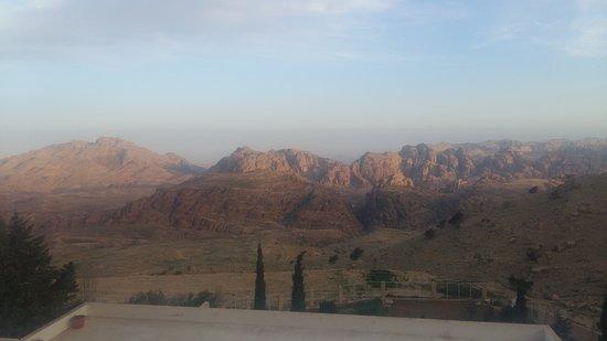 Petra Panorama Hotel: Vue de la chambre