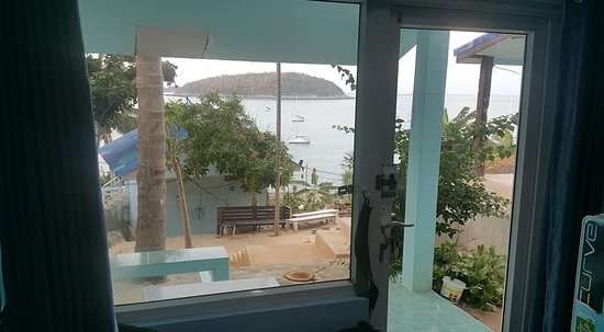 Naiharn On The Rock: View from inside the room