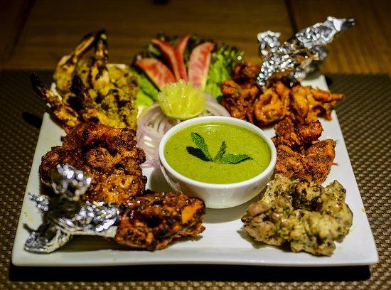 Non veg Platter In Dinner Buffet at It's Mirchi