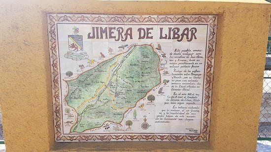 Jimera de Libar, สเปน: The railway station is just a few metres from the bar
